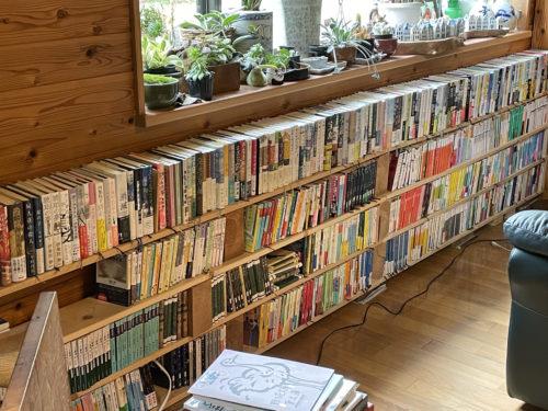 お山の図書室全景